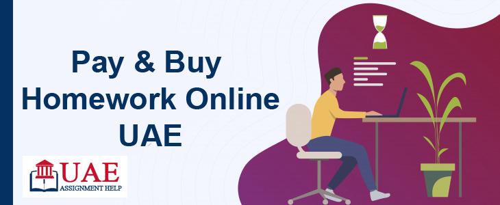 Pay & Buy Homework Online UAE