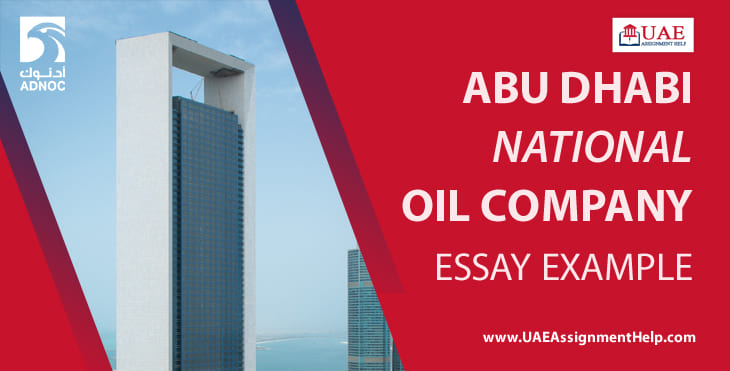 Abu Dhabi National Oil Company Essay