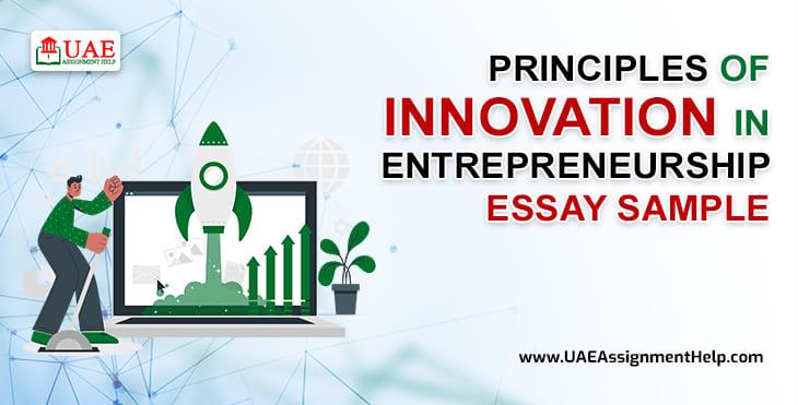 Entrepreneurship Innovation Principles