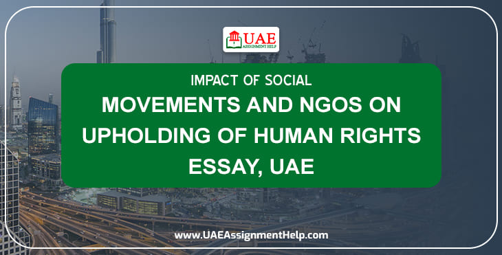 Impact of Social Movements and NGO's on Upholding of Human rights