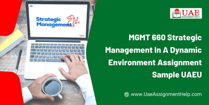 MGMT 660 Strategic Management in a Dynamic Environment Assignment Solution UAEU