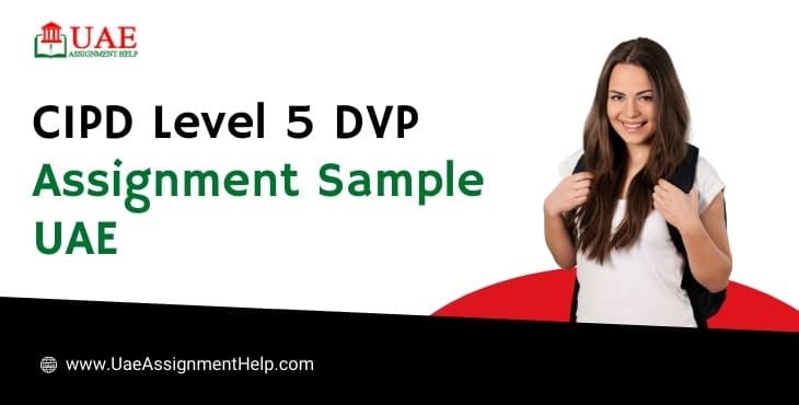 CIPD Level 5 DVP Assignment Example UAE